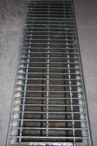 Stainless steel grate application.