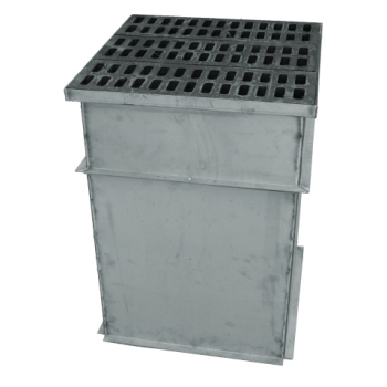 trench drain pouring box 1