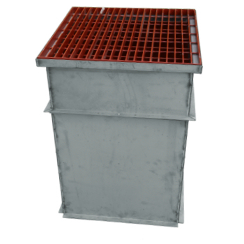 trench drain pouring box 2